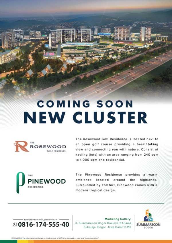 Cluster-The-Rosewood-Golf-residence-summarecon-bogor