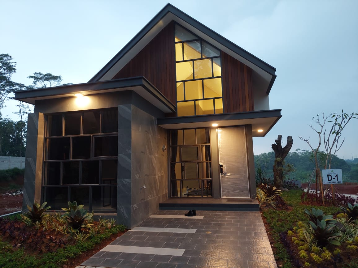 Rumah Contoh Golden Cikeas